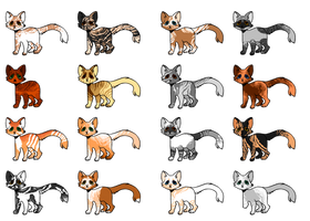 OPEN Cat adopts by OverLord-Adopts