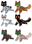 OPEN Duskface Litter 4 by OverLord-Adopts