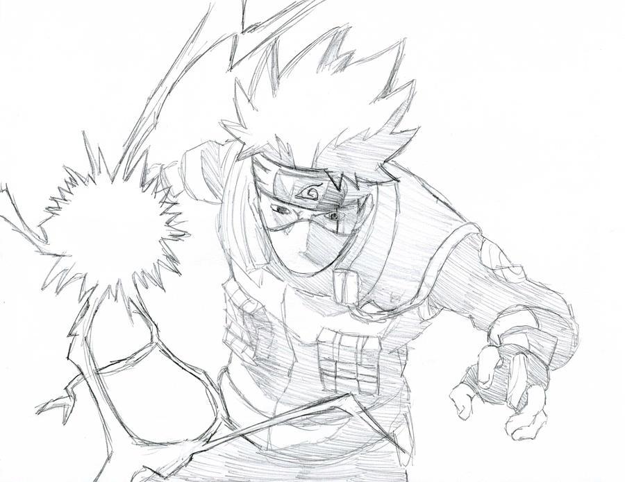 Kakashi hatake by andrew84003 on deviantart for Kakashi coloring pages