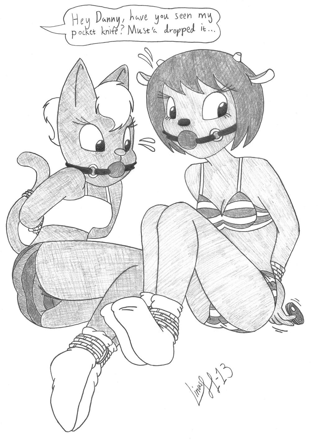 Lammy and Katy by Limpurtikles