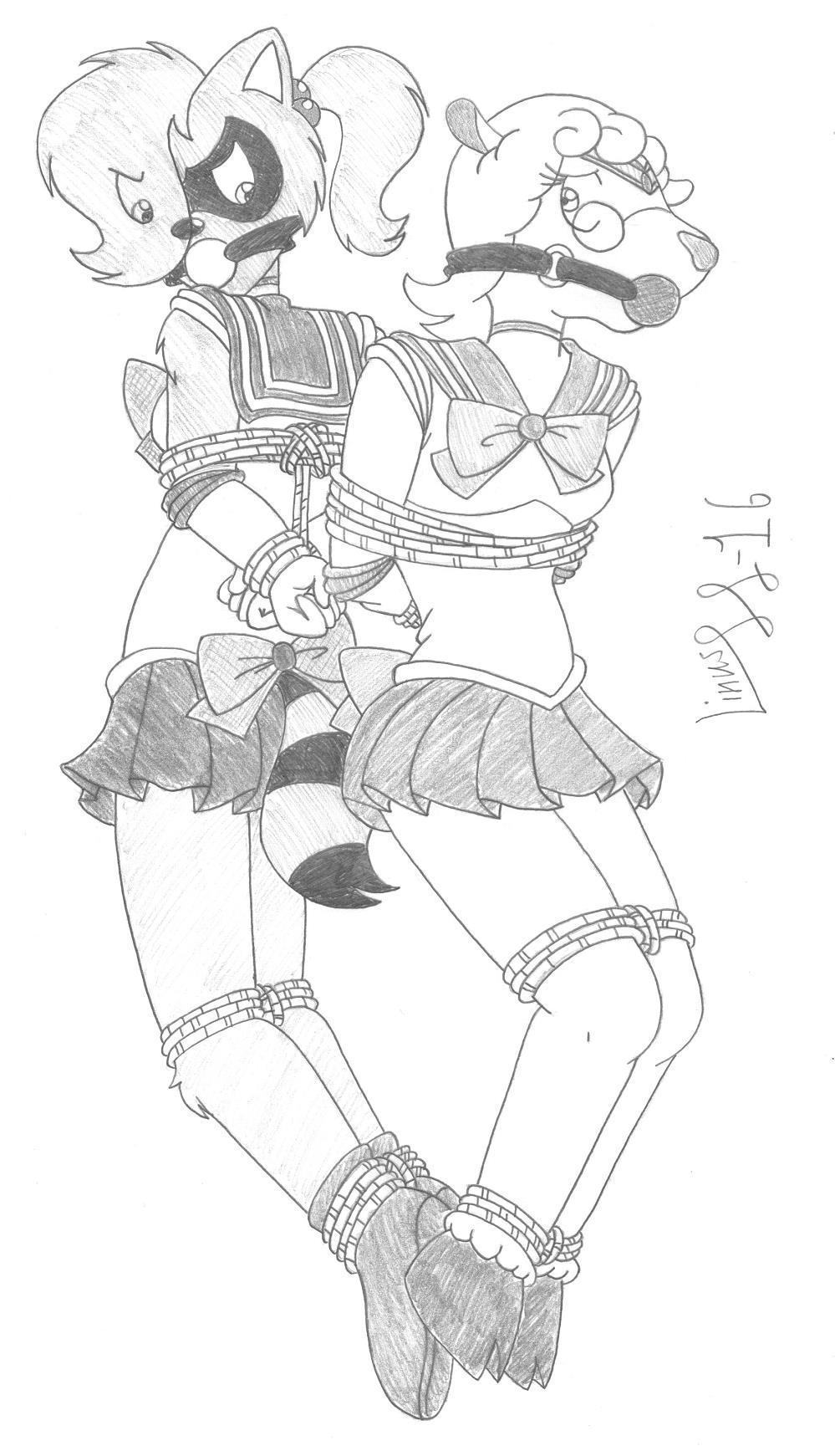 Sailor scouts bondage