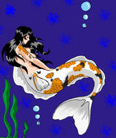 Koi Mermaid by BigGirlsArt