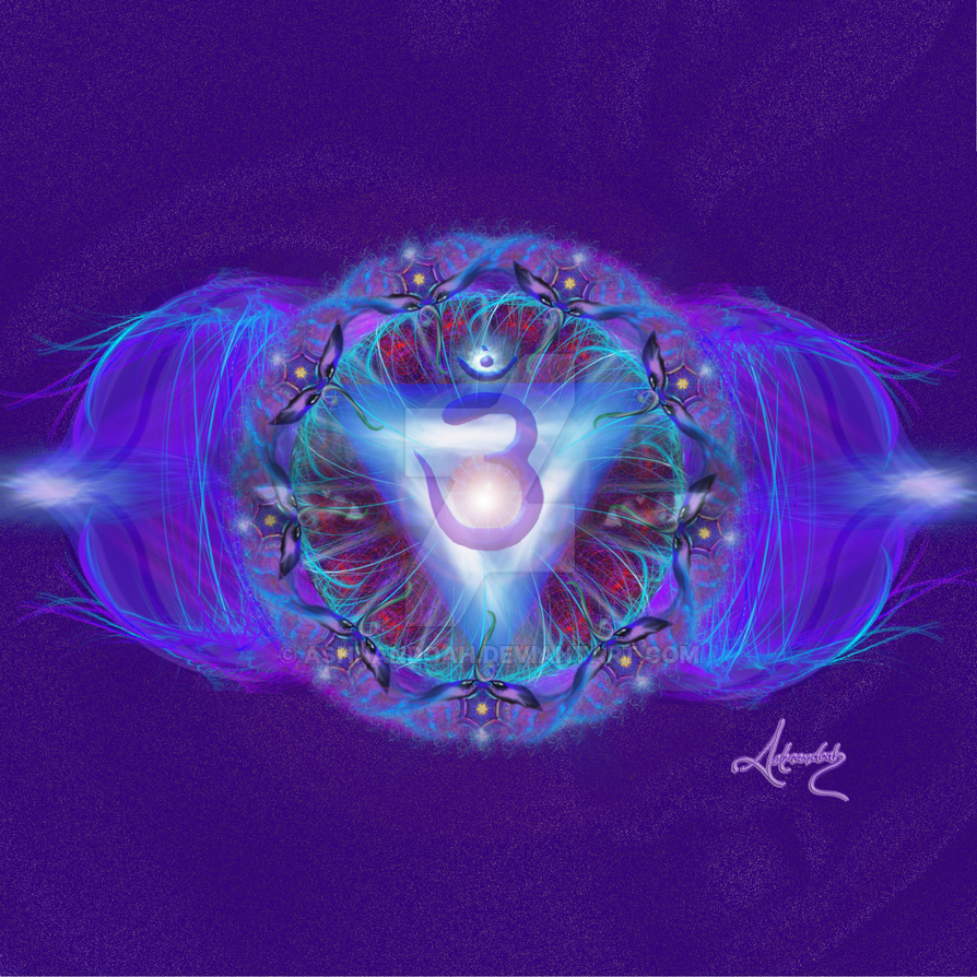 Third Eye Chakra Symbol By Ashnandoah On Deviantart