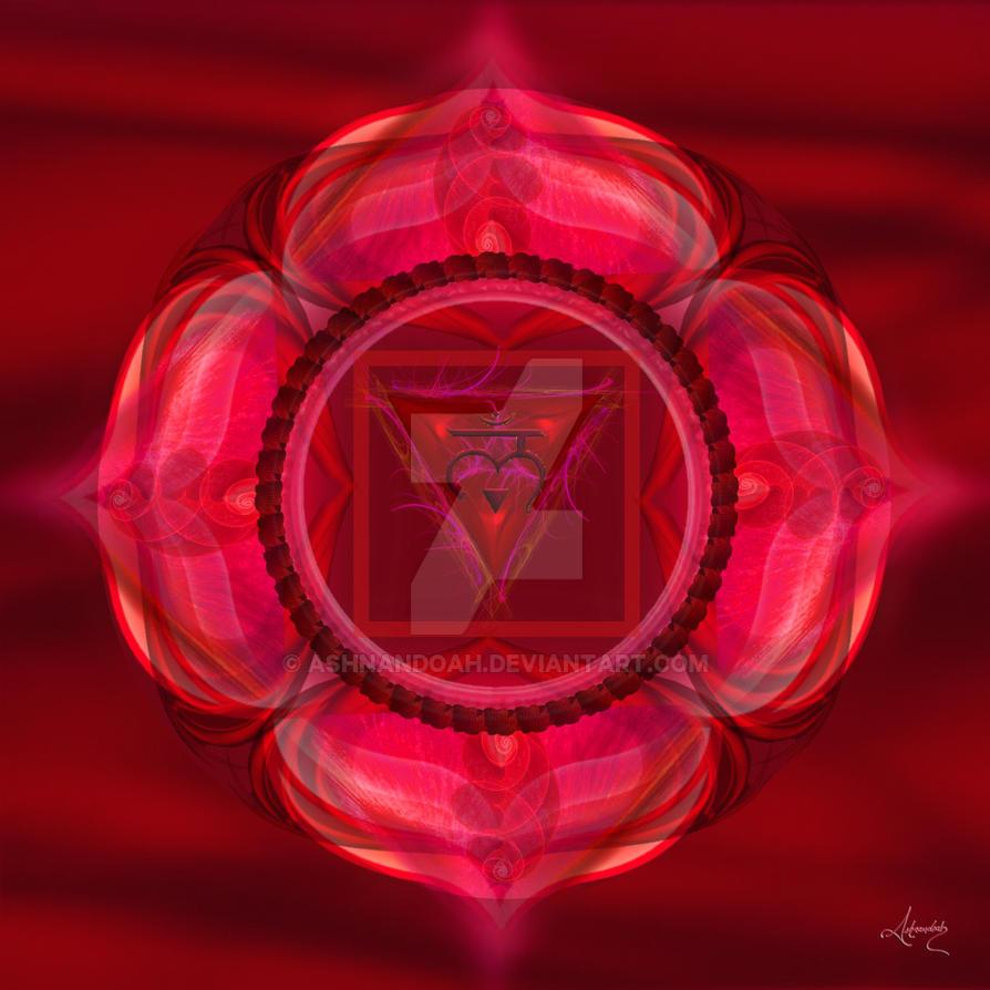 Root Chakra Symbol Muladhara By Ashnandoah On Deviantart