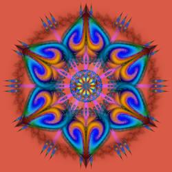 Mandala Aries Rising
