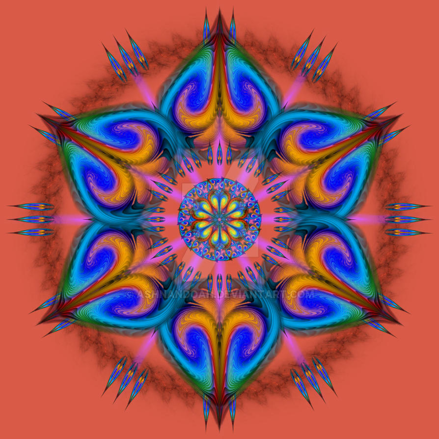Mandala Aries Rising by Ashnandoah