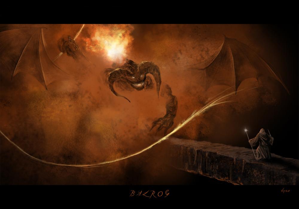 The Balrog of Moria