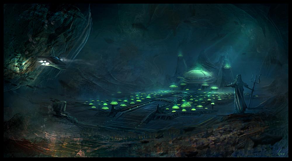 Atlantis by BlueRogueVyse