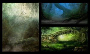 Venus concepts by BlueRogueVyse