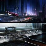 Sci-Fi environments