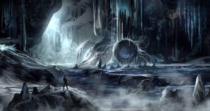 Yet another ice cave environment