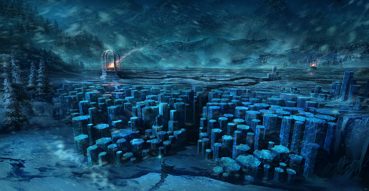 Winter Labyrinth by BlueRogueVyse