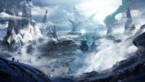 Snowscape by BlueRogueVyse