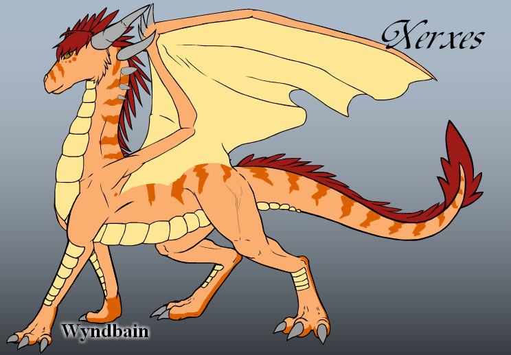 Dragon Xerxes by valcek05