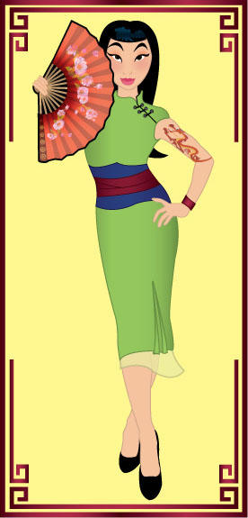 Rockabilly Mulan