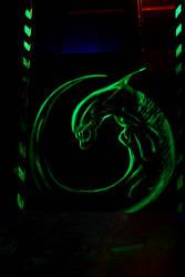 Fluorescent  Alien