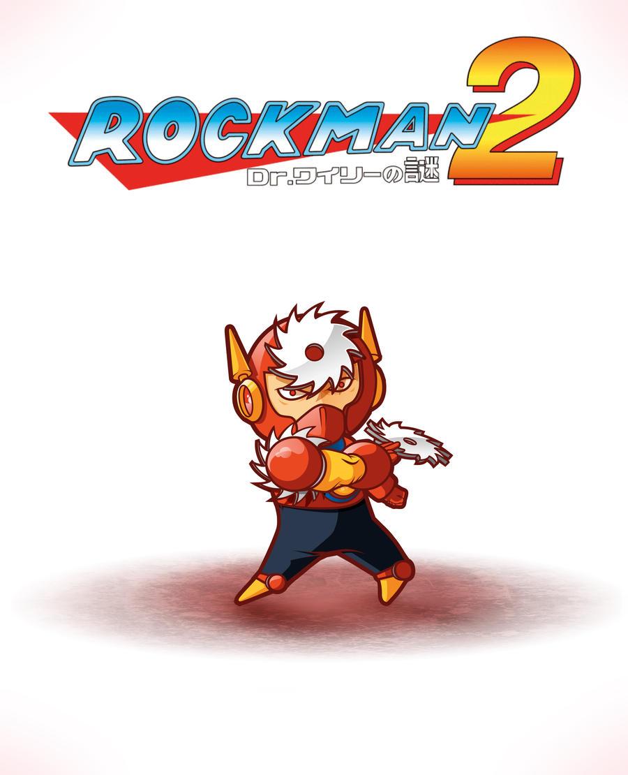 Megaman : Chibi Metalman by shureoner