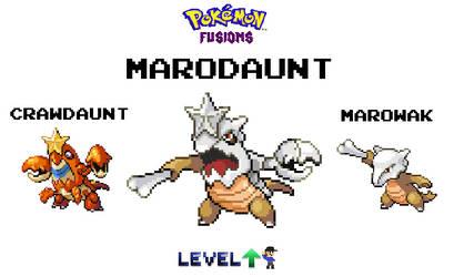 Pokemon Fusion: Marowak and Crawdaunt