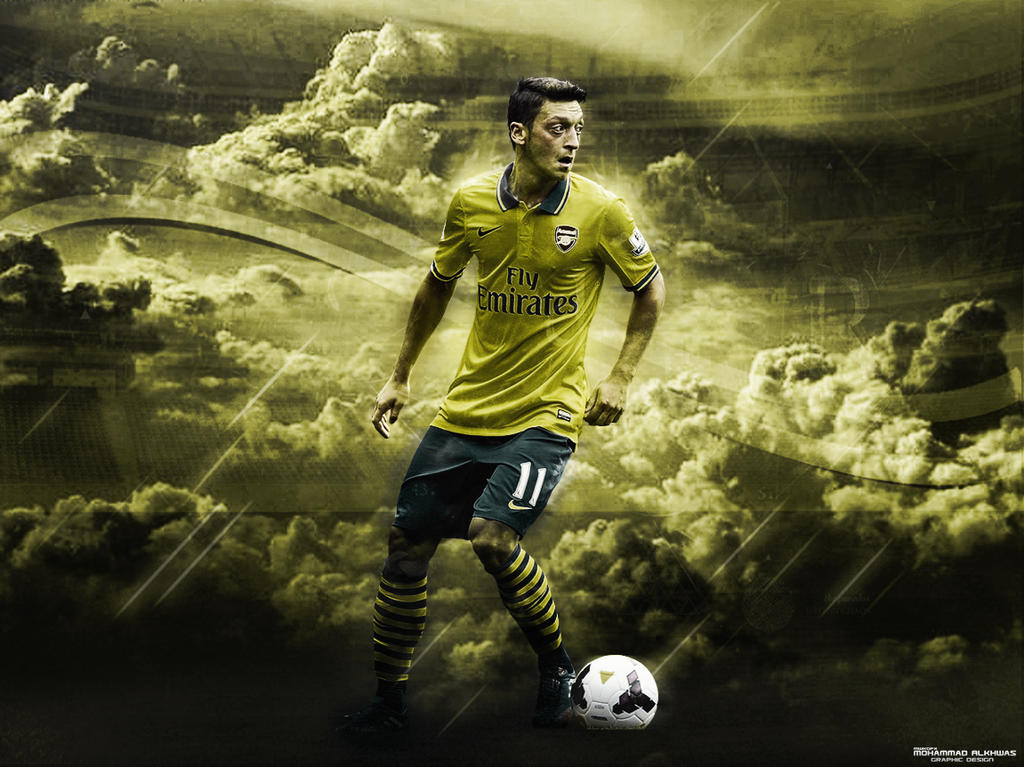 Mesut Ozil Wallpaper By MWKGFX On DeviantArt