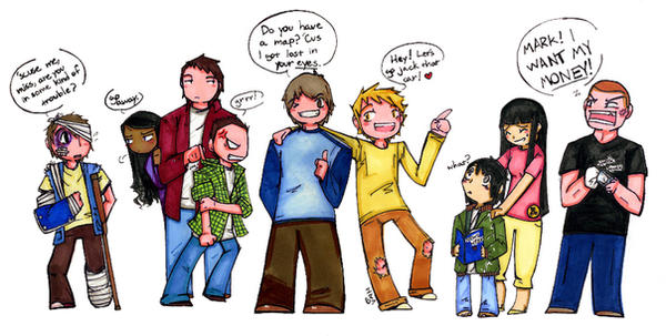 That Was Then, This Is Now... by Shotokittie on DeviantArt