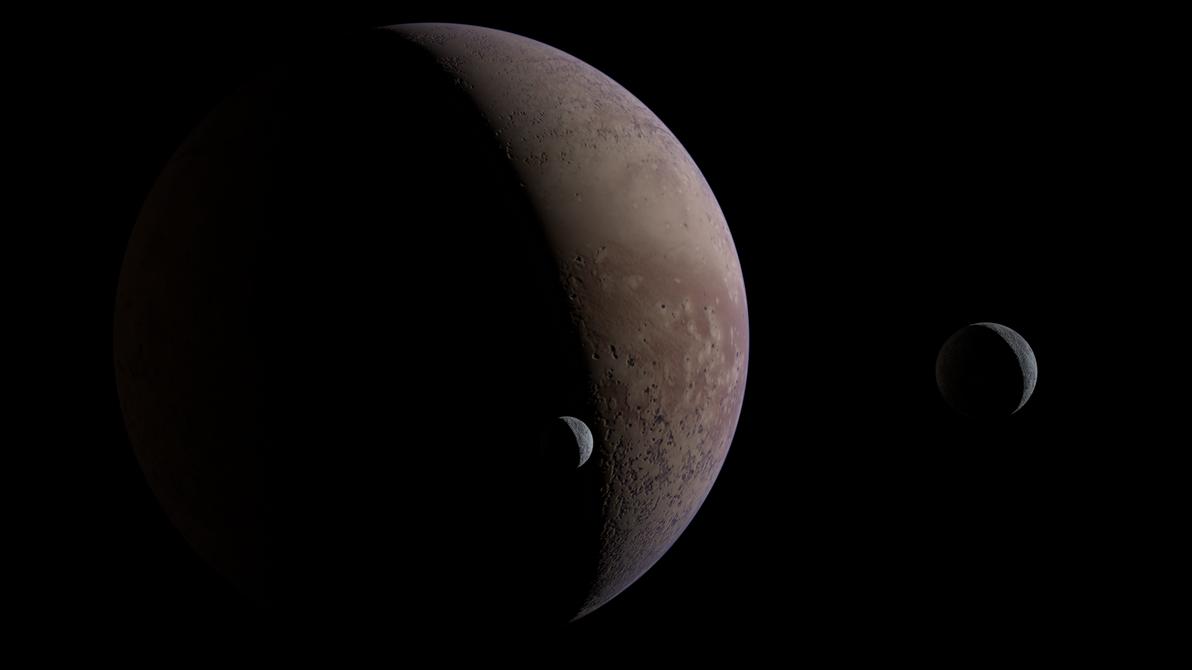 Barren Planet Test 03 by 4wallforce