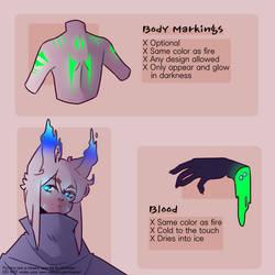 Marking/Blood guide by Kirastes
