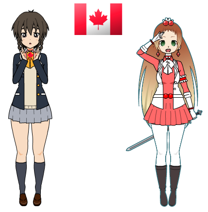 (International Magical Girl Challenge) Canada by AestheticNyx