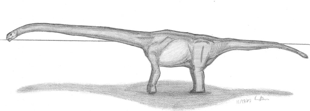 Mamenchisaurus hochuanensis by EmperorDinobot