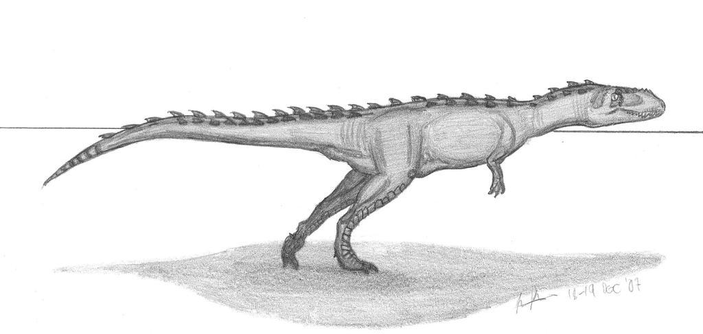 Indosuchus raptorius by EmperorDinobot