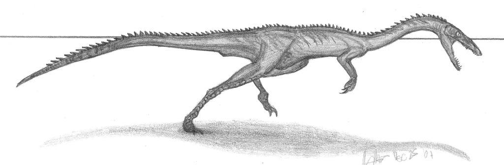 Zupaysaurus rougieri by EmperorDinobot