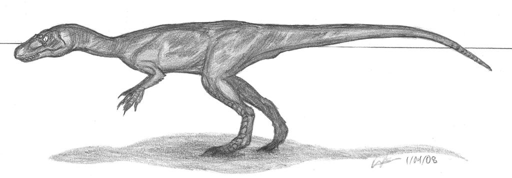 Lourinhanosaurus antunesi by EmperorDinobot