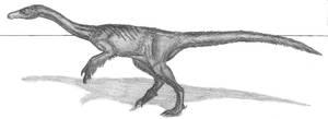 Erliansaurus bellamanus by EmperorDinobot