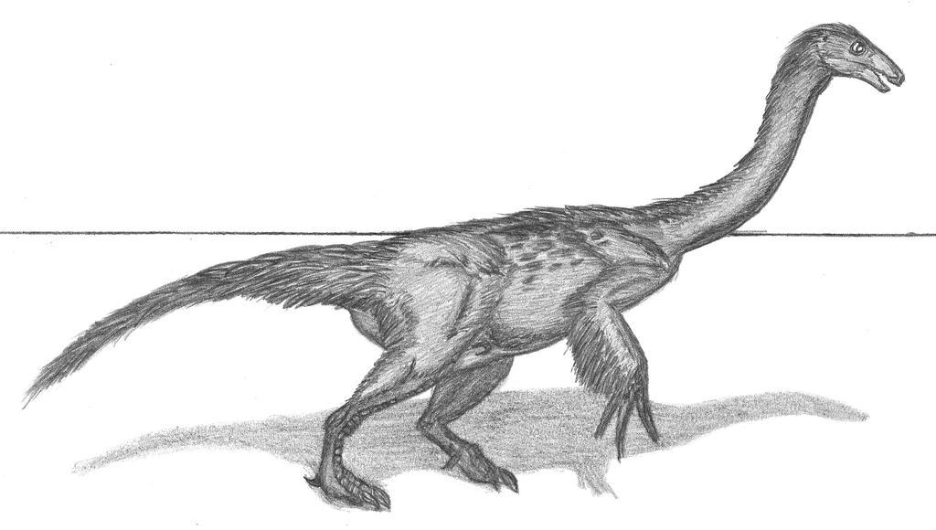 Nothronychus mckinleyi by EmperorDinobot