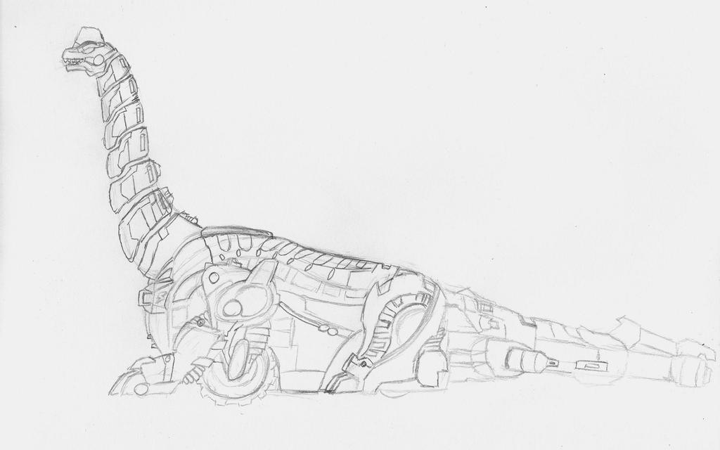 Titanus unfinished by EmperorDinobot