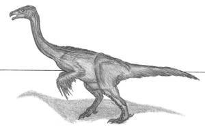 Erlikosaurus andrewsi by EmperorDinobot
