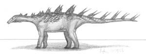 Lexovisaurus durobrivensis by EmperorDinobot