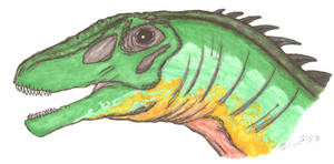 Nemegtosaurus mongoliensis by EmperorDinobot