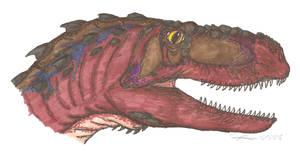 Abelisaurus comahuensis by EmperorDinobot