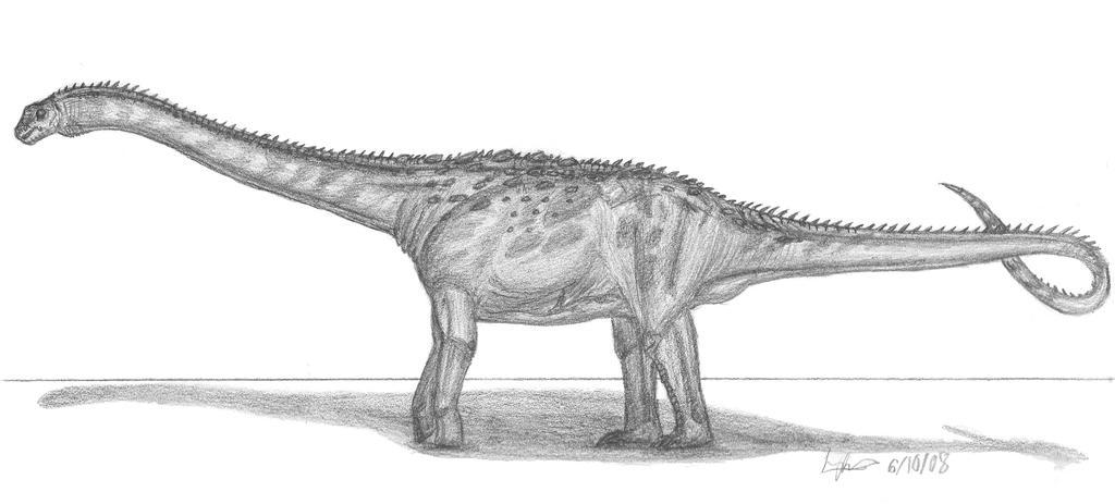 Argentinosaurus huinculensis by EmperorDinobot
