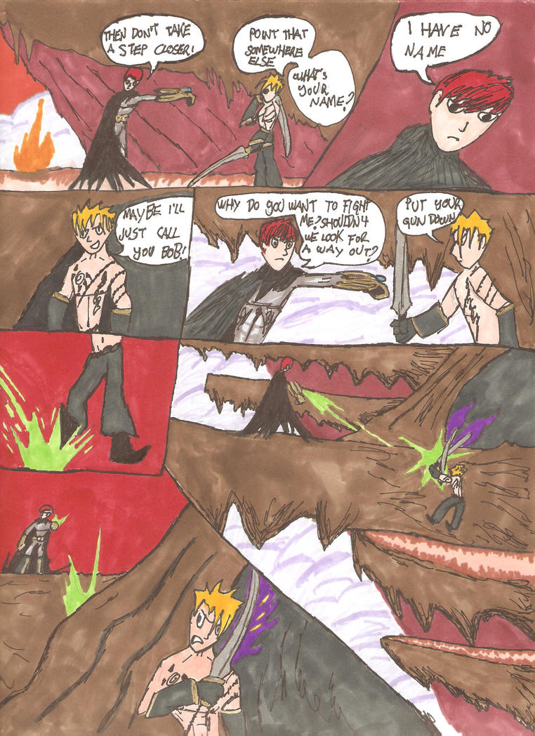 Trapped in a Dream, pg6 by EmperorDinobot