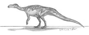 Muttaburrasaurus langdoni by EmperorDinobot