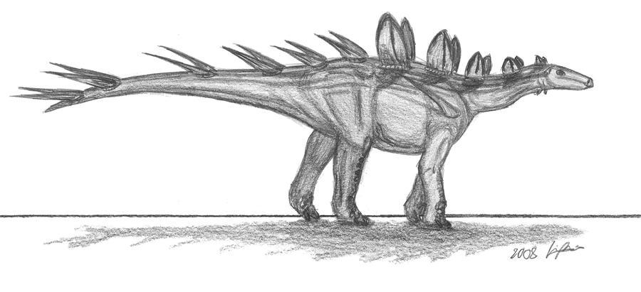 Chialingosaurus kuani by EmperorDinobot