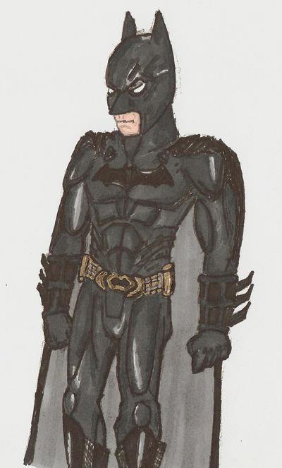 BatmanBeginsColor by EmperorDinobot