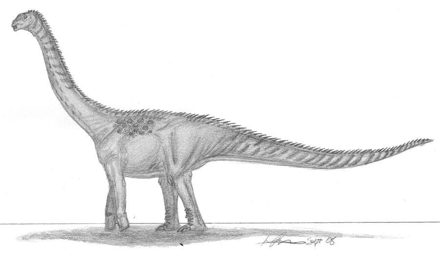 Antarctosaurus by EmperorDinobot