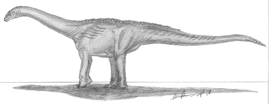 Turiasaurus riodevensis by EmperorDinobot