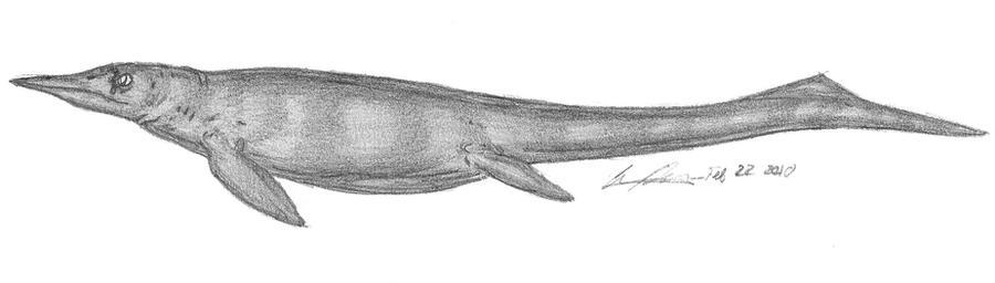 Chaohusaurus geishanensis by EmperorDinobot