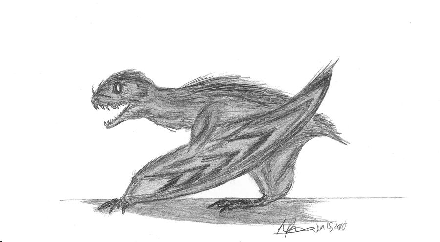 Anurognathus ammoni by EmperorDinobot