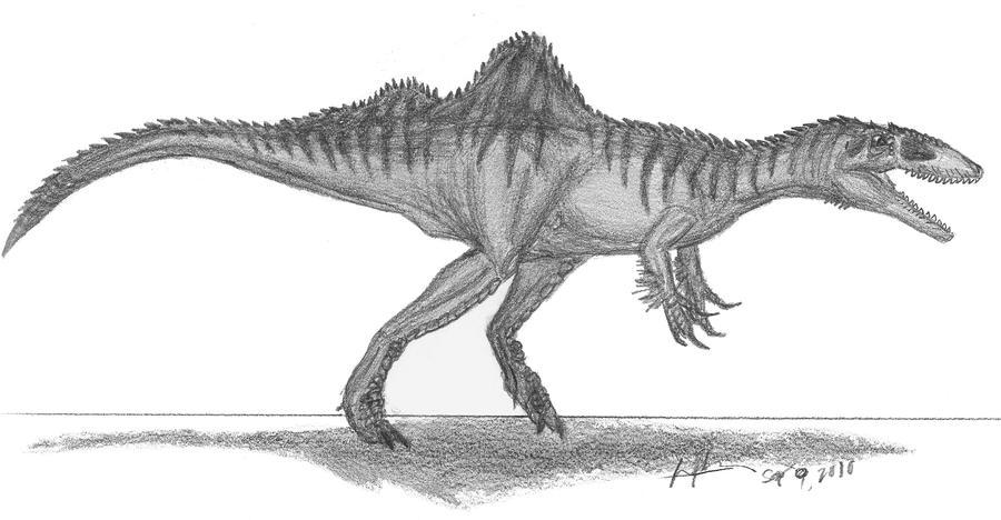 Concavenator corcovatus by EmperorDinobot