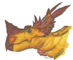 Pachyrhinosaurus bust