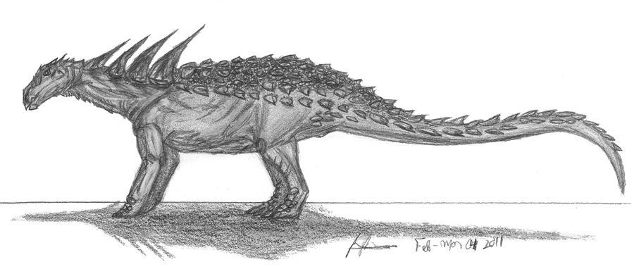 Sauropelta edwardsorum by EmperorDinobot